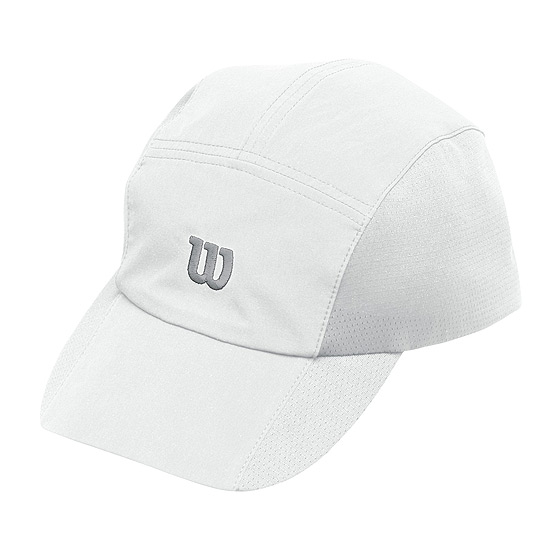 Wilson Rush Stretch Woven Cap (White)