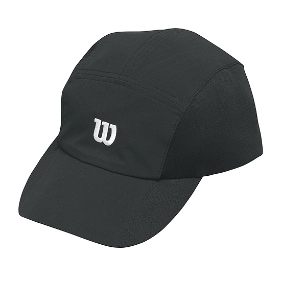 Wilson Rush Stretch Woven Cap (Black)