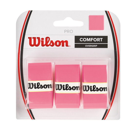 Wilson Pro Overgrip Pink (3 Pack)