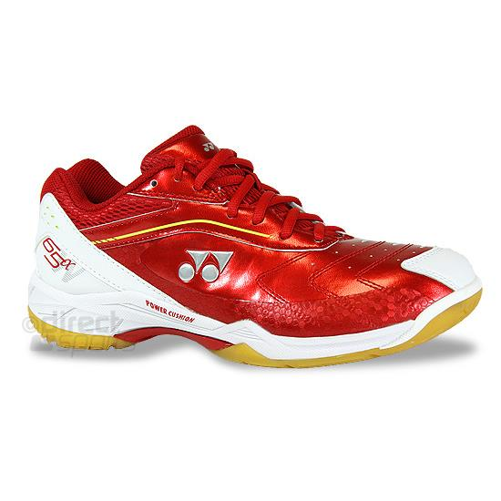 717902ff8535d Yonex Power Cushion 65a - Wide Fitting - Badminton Shoe (Red ...