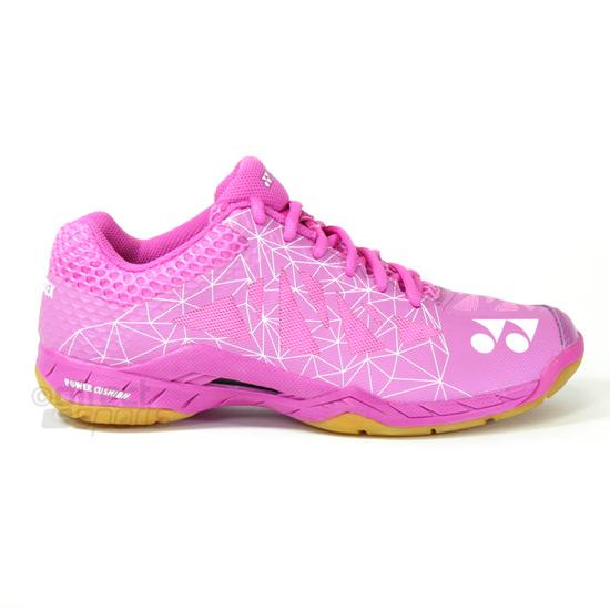 ba0a832f3d76 Yonex Power Cushion Aerus 2 Womens Badminton Shoes (Pink)