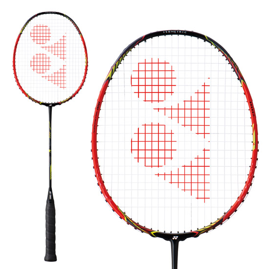 Yonex Voltric Force Lin Dan Badminton Racket (Crystal Red)