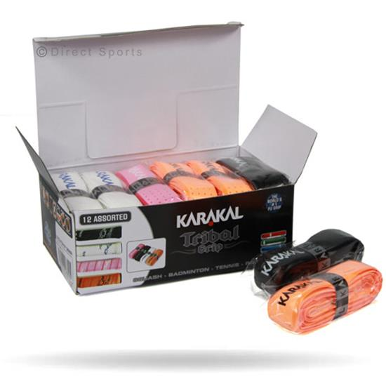 Karakal PU Super Tribal Grip box of 12