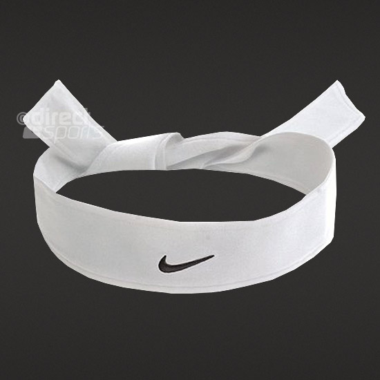 Nike Dry Fit Head Tie (White)