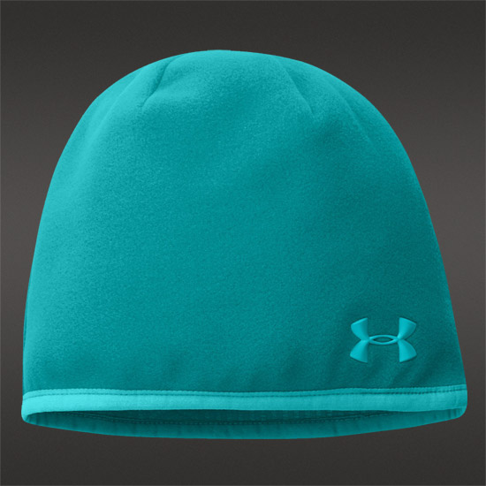 Under Armour Cold Gear Infrared Storm Fleece Beanie (Aqueduct)
