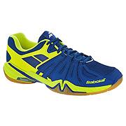 8d03da54e981 Babolat Shadow Spirit Mens Badminton Shoes (Electric Blue-Flash Yellow)