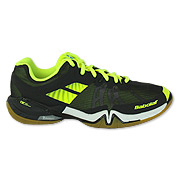 b1646d07a1b7 Babolat Shadow Tour Mens Badminton Shoes (Black-Flash Yellow)