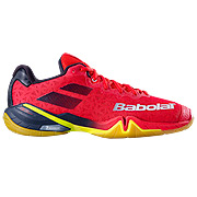 5390f50bd84 Babolat Shadow Tour Mens Badminton Shoes (Red-Blue)