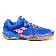 58412281448f Babolat Shadow Tour Mens Badminton Shoes (Blue-Coral)