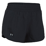 purchase cheap b8baf 0f682 Under Armour Fly By Womens Tulip Short (Black)