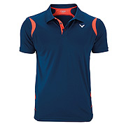 a4869a06 Victor Team Line Unisex Function Polo Shirt (Coral)
