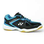 Yonex Power Cushion 35 Mens Badminton Shoes (Black-Blue) e62b2a768