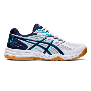 Asics Gel Upcourt 4 Mens Court Shoes (White-Peacoat)