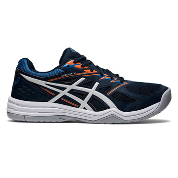 Asics Gel Upcourt 4 Mens Court Shoes (French Blue-White)