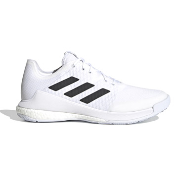 Adidas Crazyflight Mens Court Shoes (Cloud White)